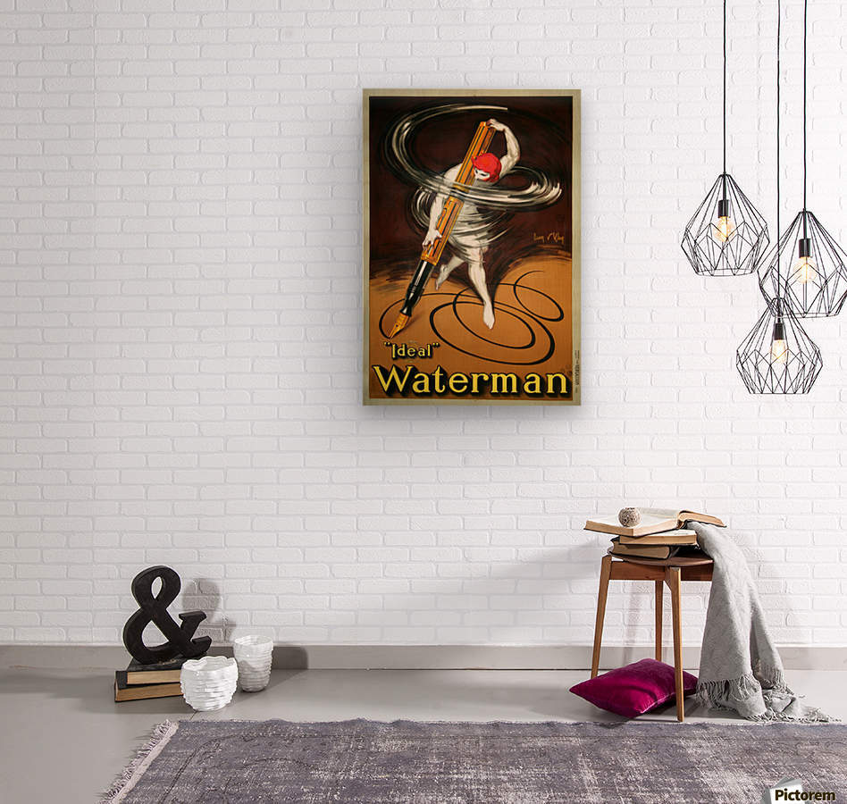 Ideal Waterman  Wood print