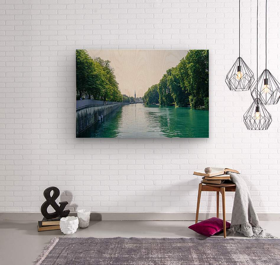 Snapshot in Time Zurich in Summer 1 of 6  Wood print