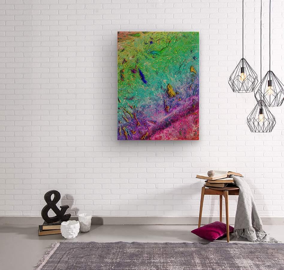 Saribo  Wood print