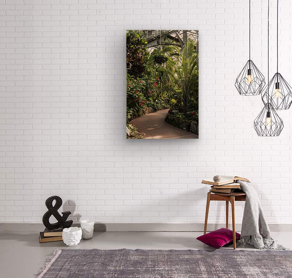 Urban Forests  Wood print