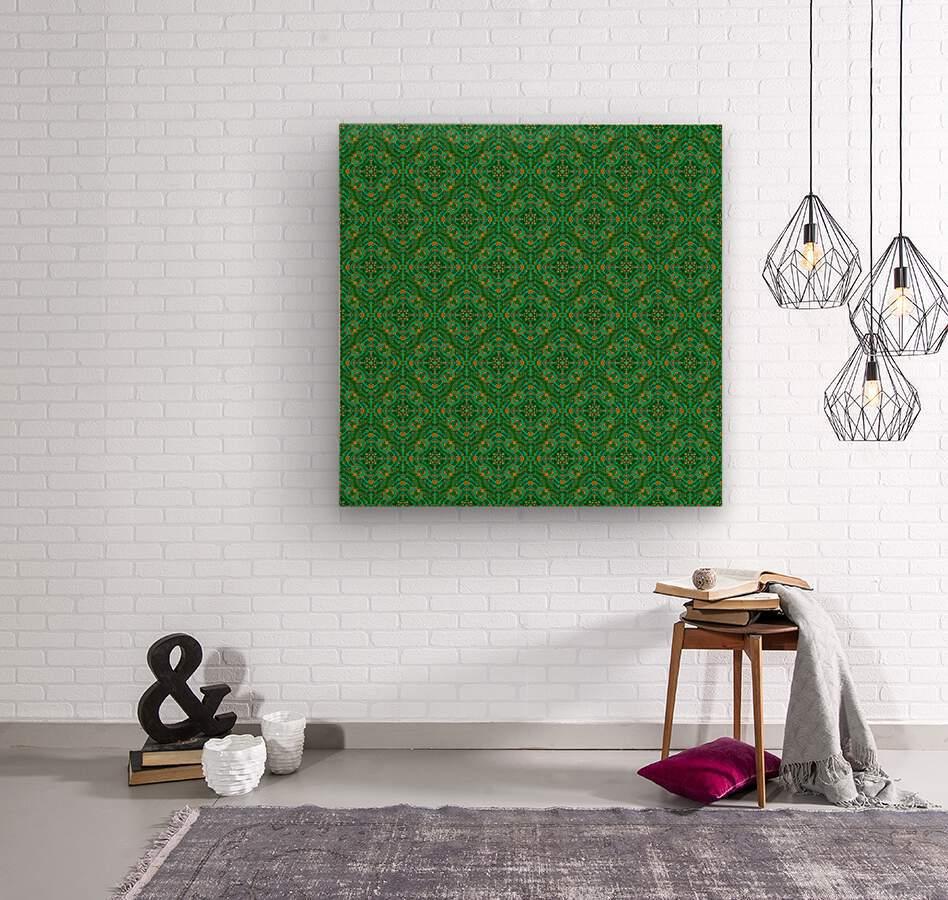 Mosaic 56  Wood print