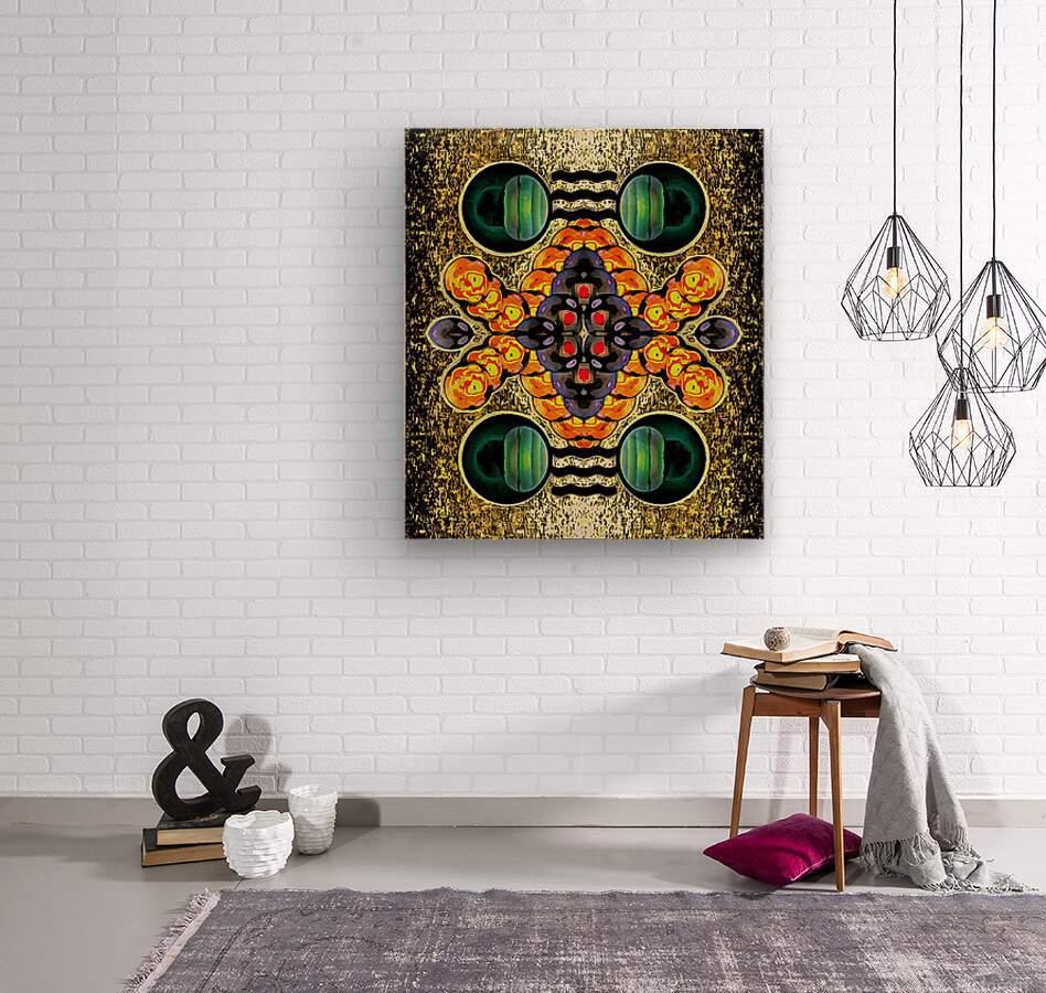 Hado Energy 1  Wood print