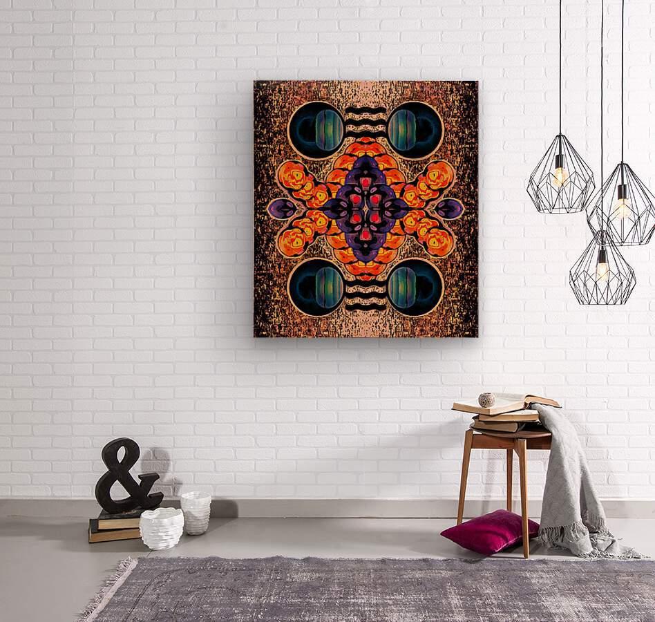 Hado Energy 11  Wood print
