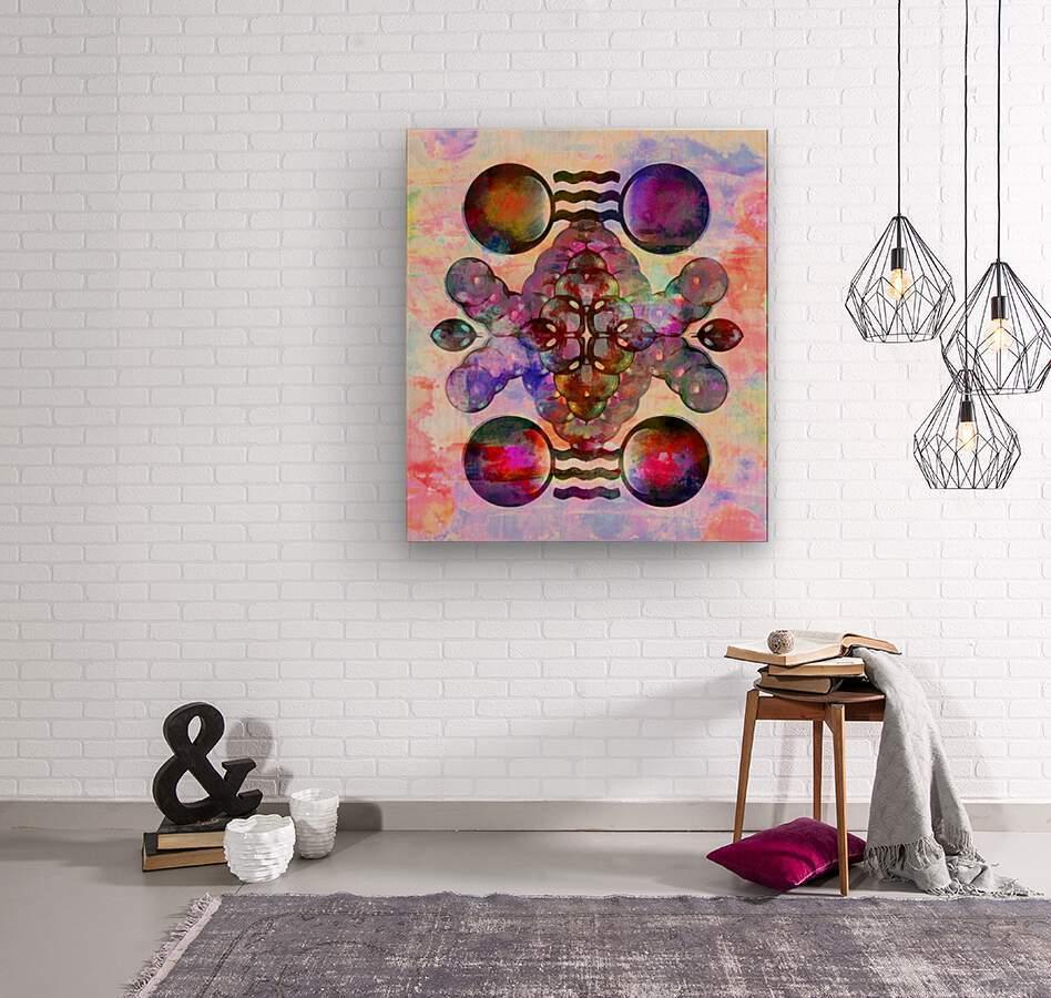Hado Energy 16  Wood print