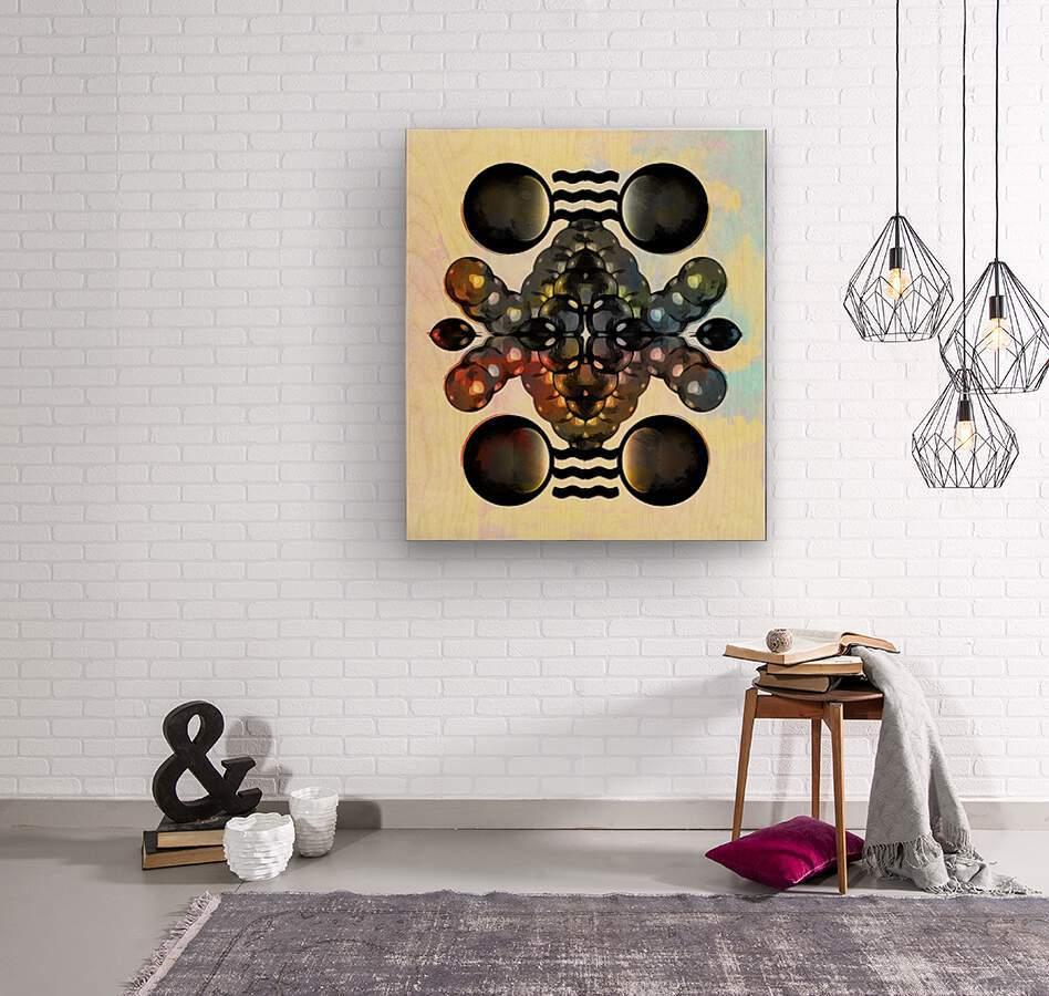 Hado Energy 12  Wood print