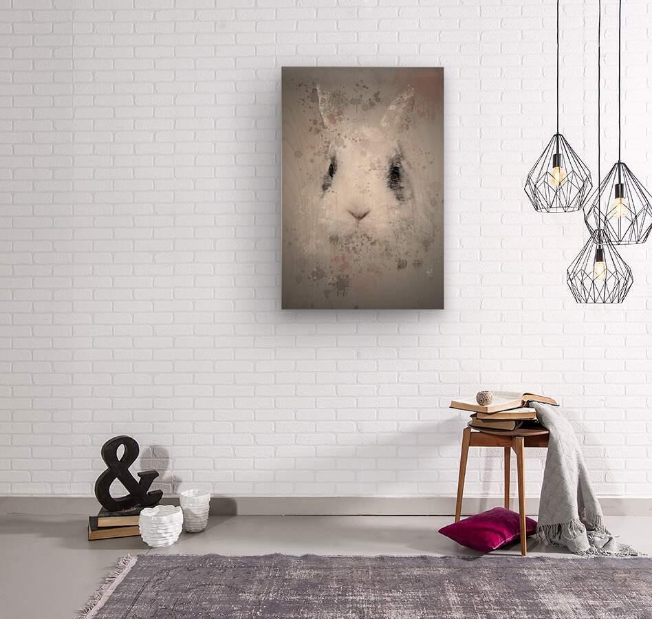 Lapin  Wood print