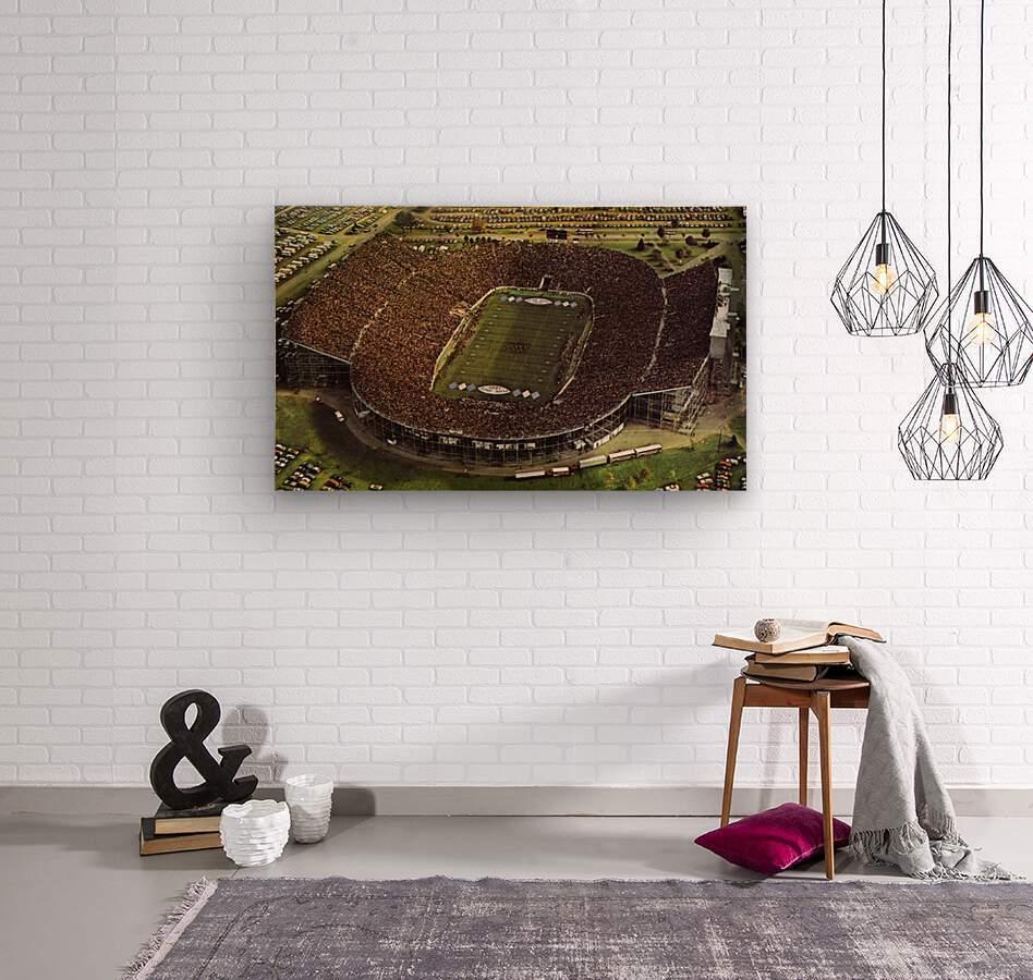 1981 Beaver Stadium Art  Wood print