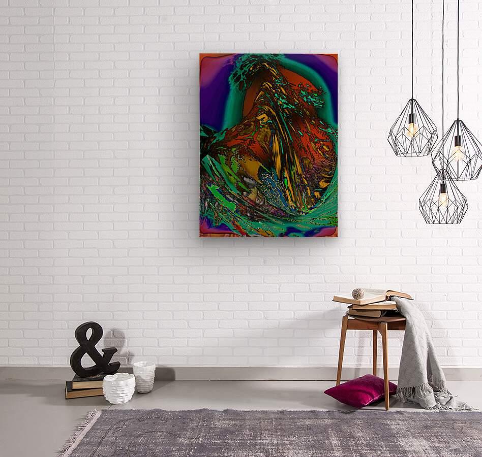 Phaldomi  Wood print