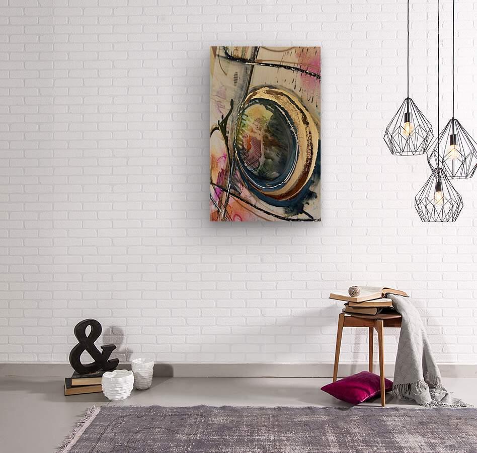 Circle Of Faith  Wood print