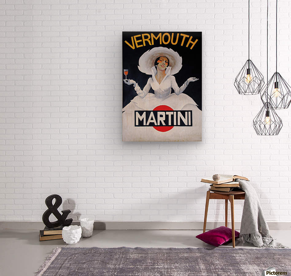 Martini Rossi  Wood print