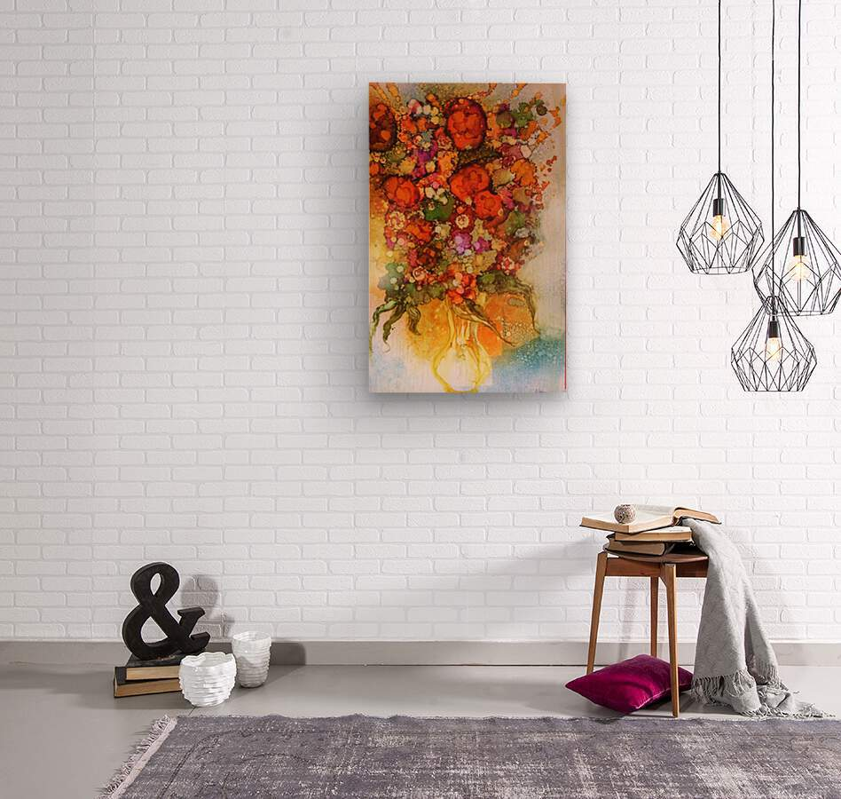 Luminosity  Wood print