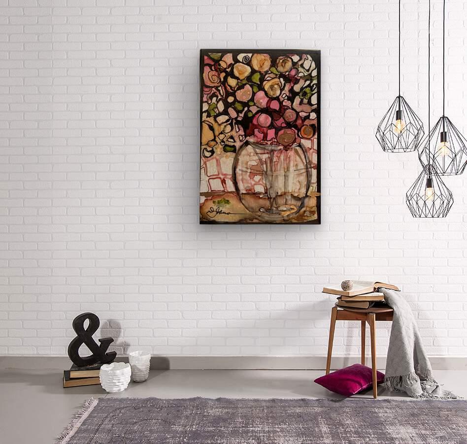 Floral Fun  Wood print
