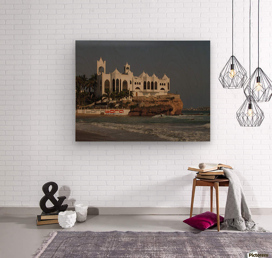 White Castle  Wood print