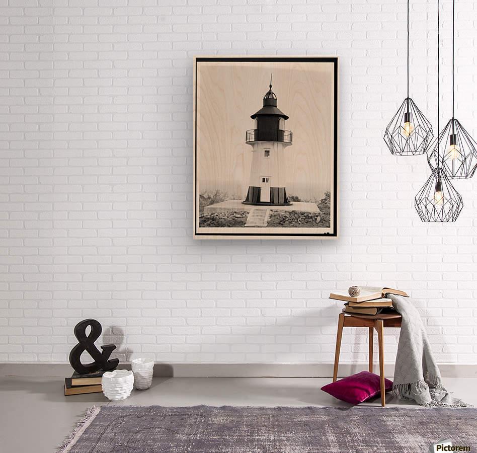 Hams-Bluff-Lighthouse-US-Virgin-Islands  Wood print