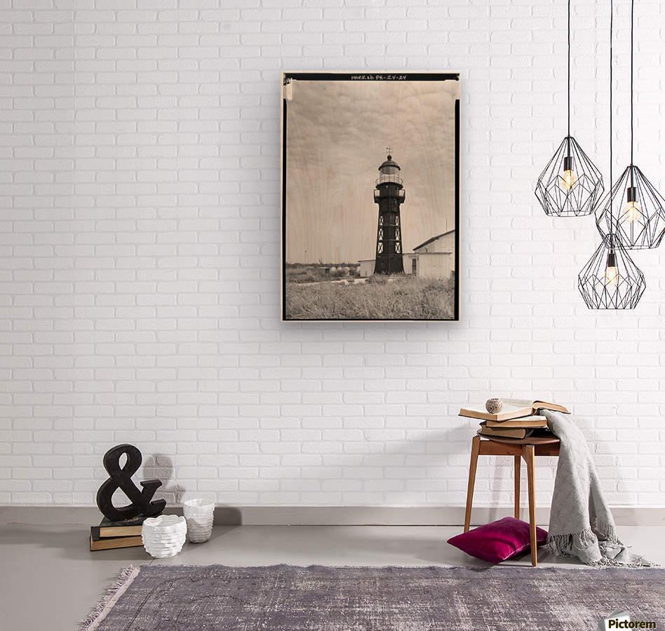 Isla-de-Mona-Light-Puerto-Rico  Wood print
