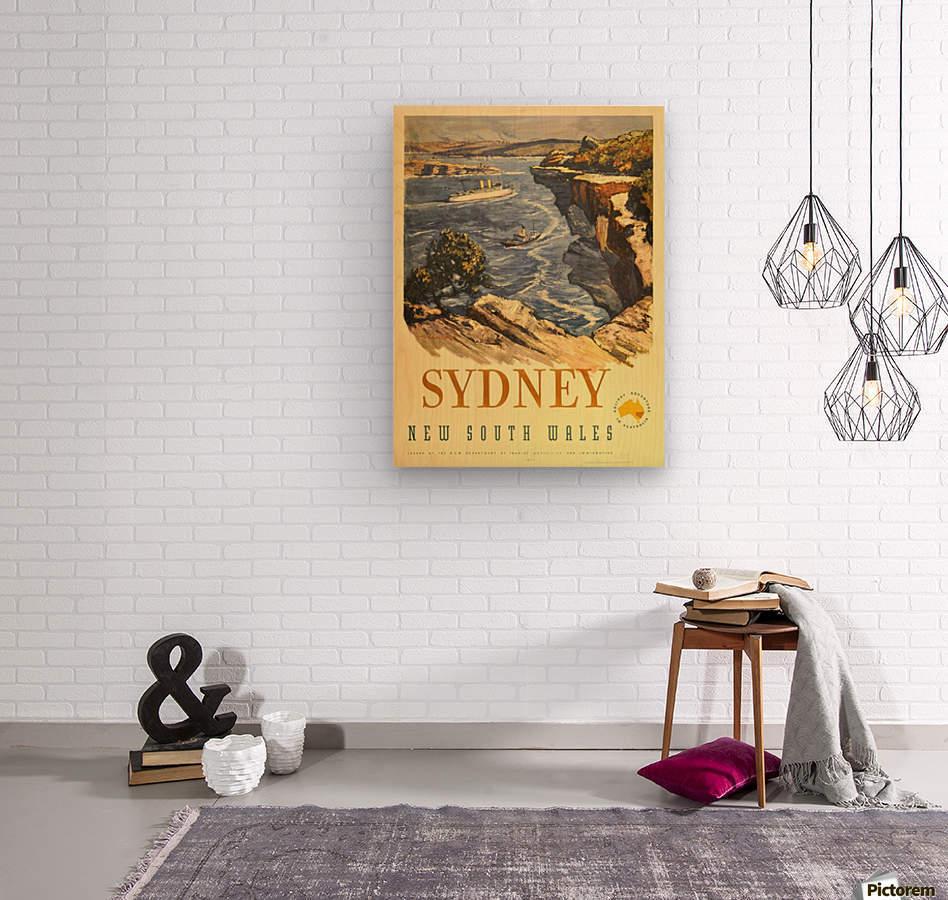Sydney New South Wales  Wood print