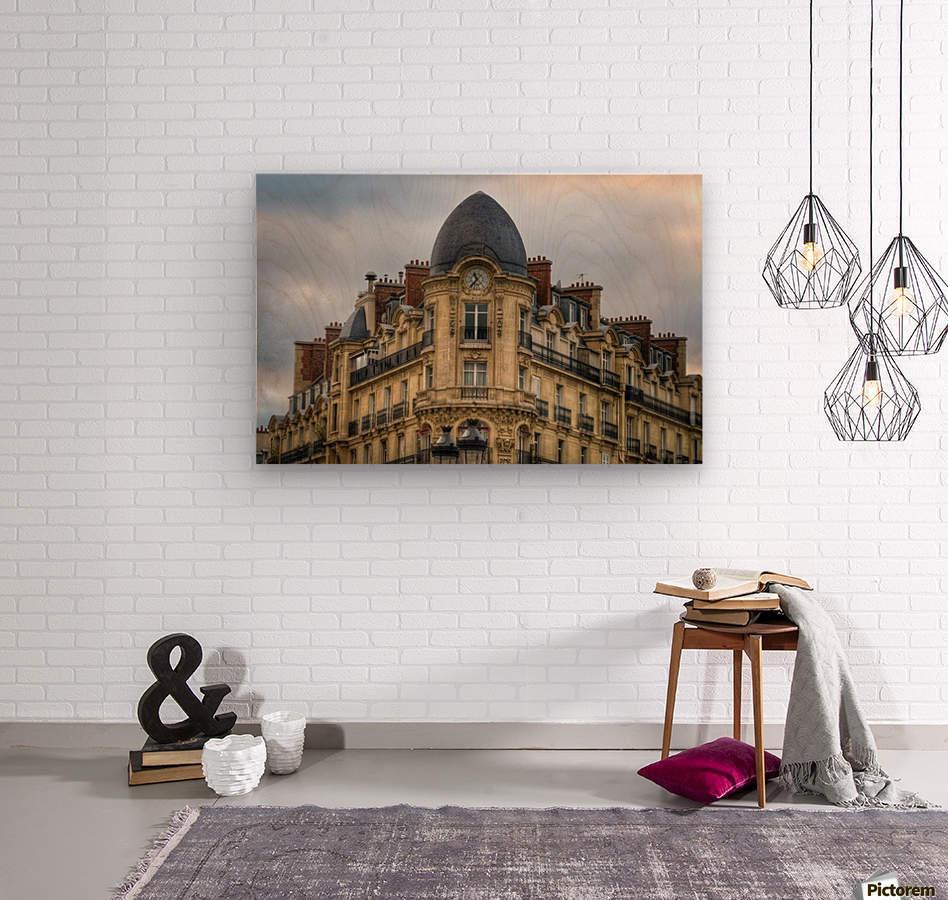 Paris Style  Wood print