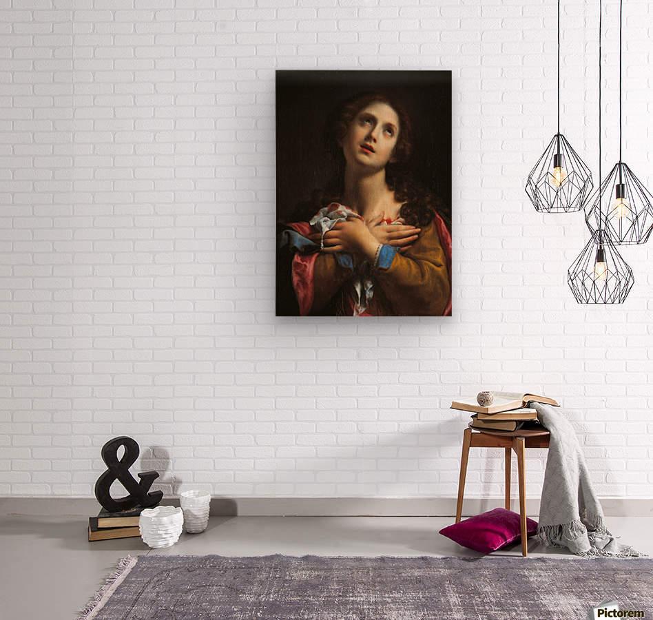 Sant Agata  Wood print