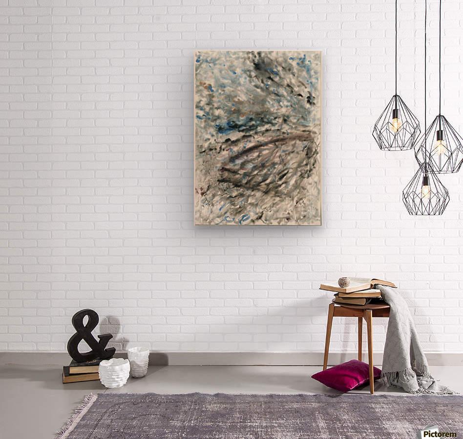 Incertitude  Wood print