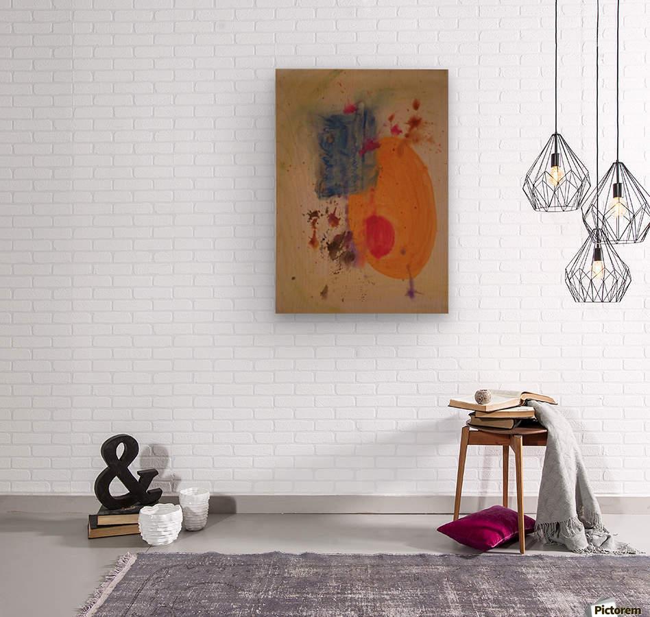 Maternity  Wood print