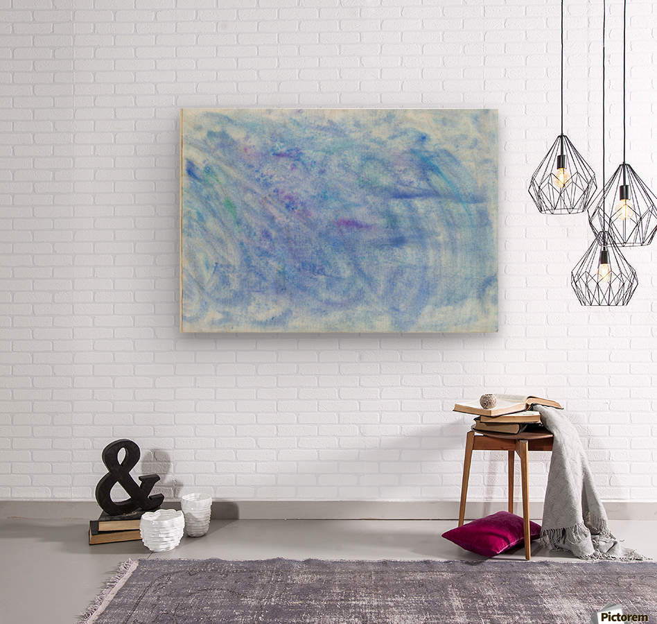 Sea  Wood print