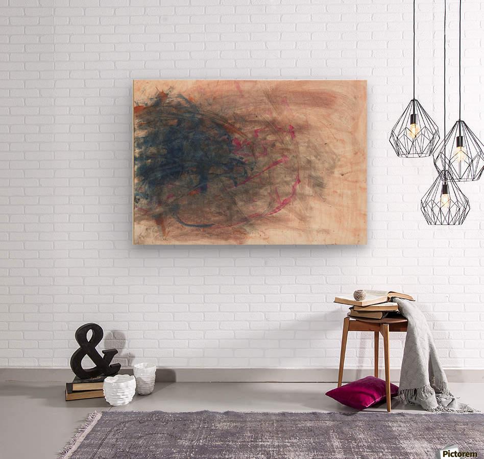 Unpaired  Wood print