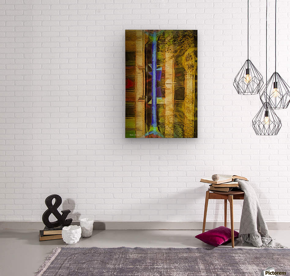 Bricks and Wheels Reflected_141111_1513_0904 HXSYV  Wood print