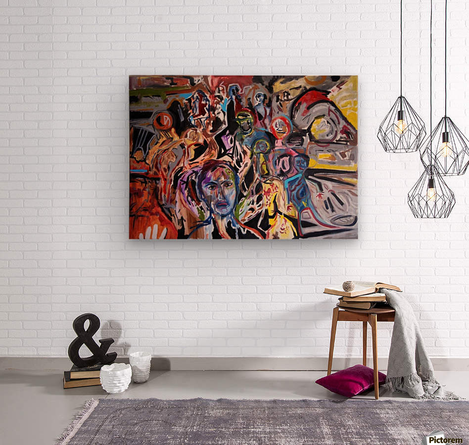 Cafarnaum  Wood print