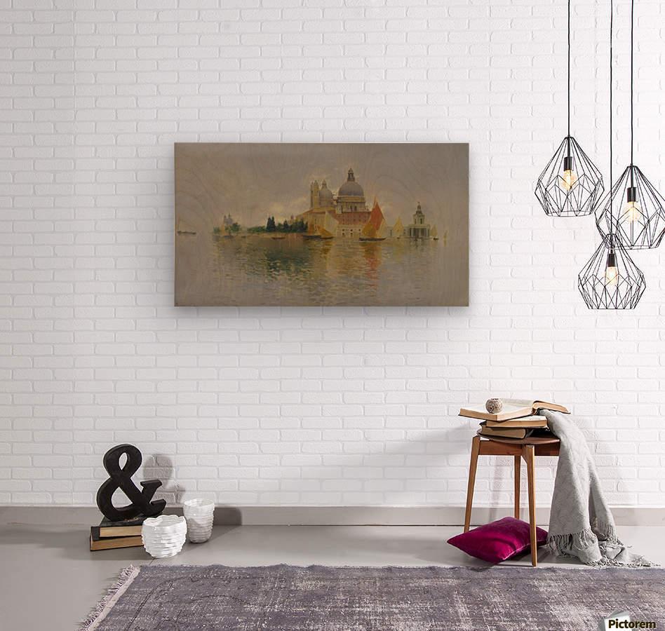 Punta della Dogana  Wood print