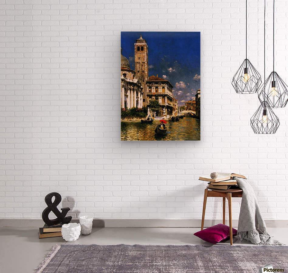 San Geremia, with Palazzo Labia, Venice  Wood print
