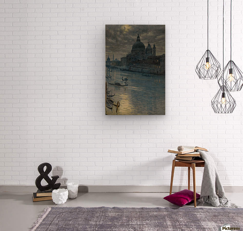 Townscape  Wood print