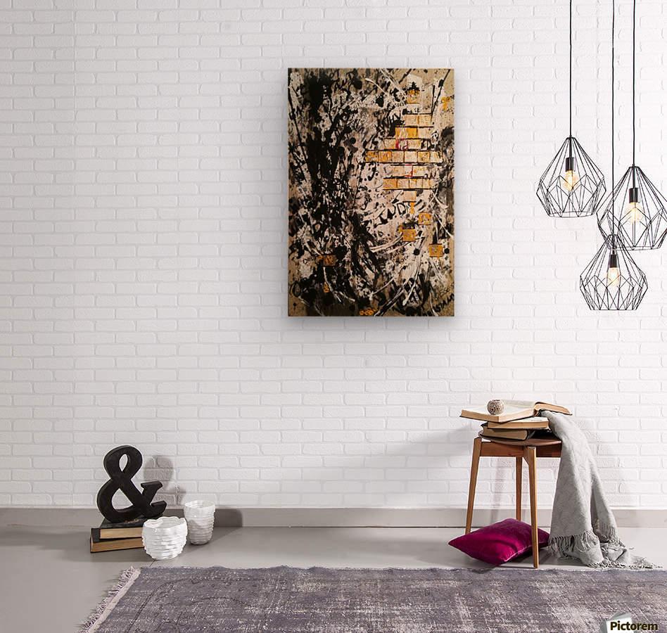 Obsession  Wood print