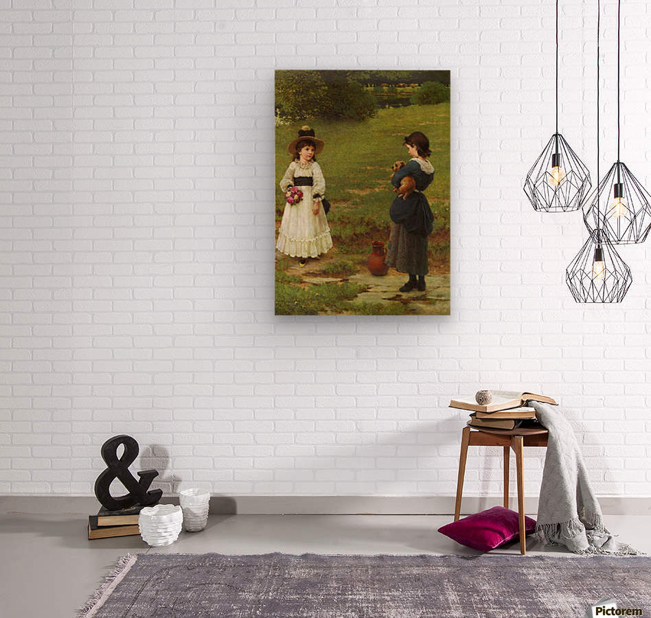 The Town and Country Mouse  Wood print