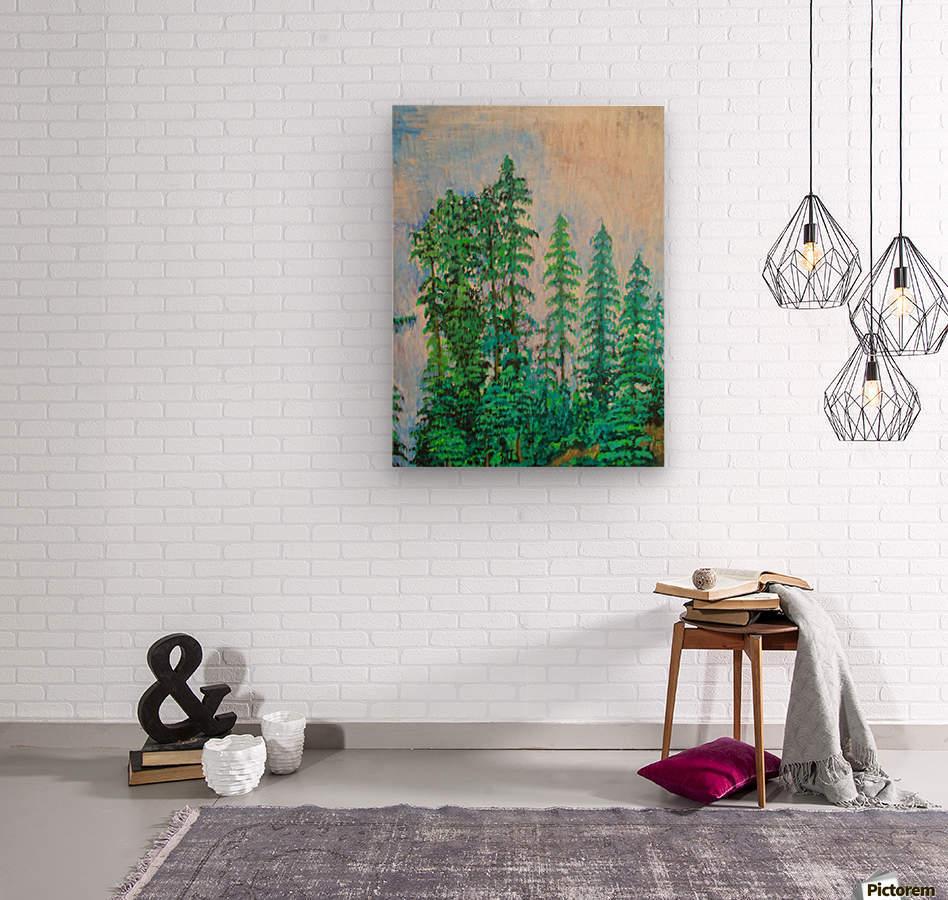 manali  Wood print
