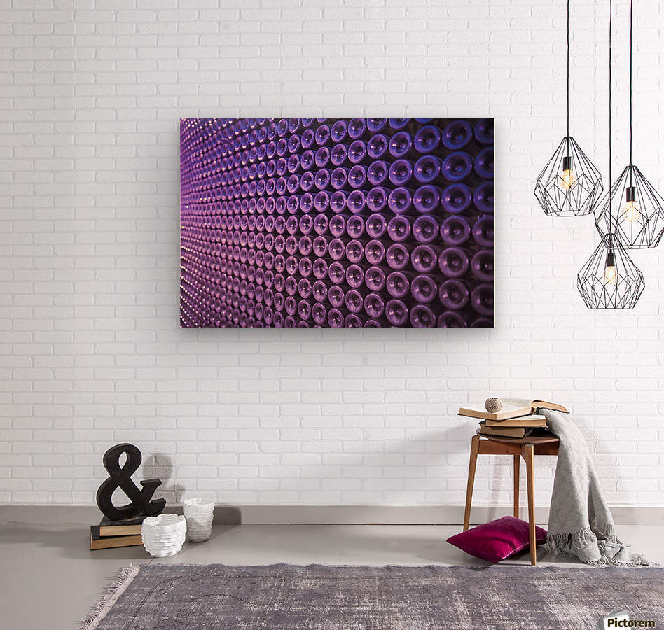 Wine Wall  Wood print