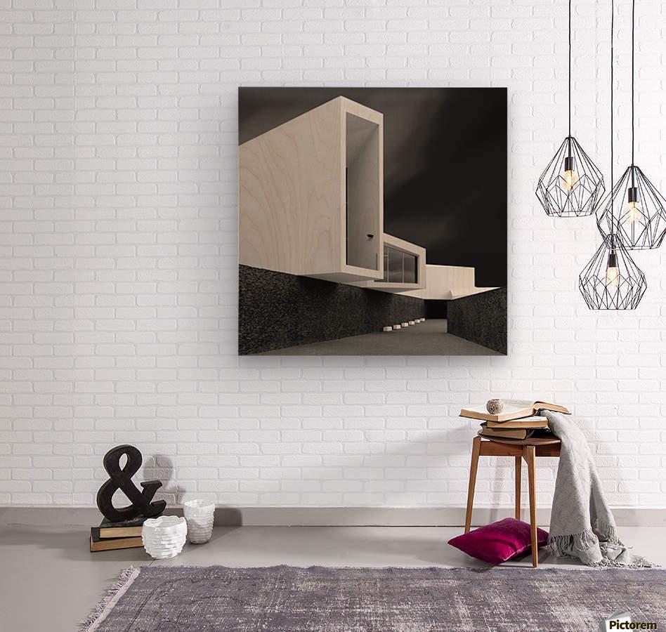 WHITE WALLS  Wood print
