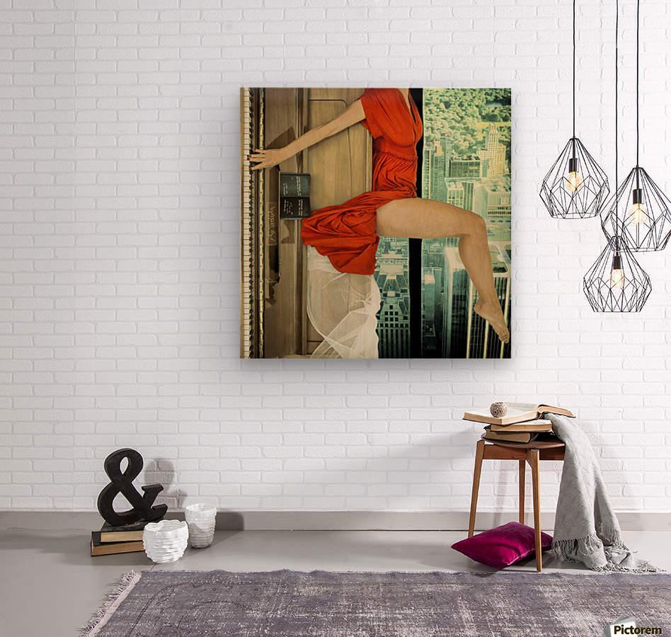 crescendo  Wood print