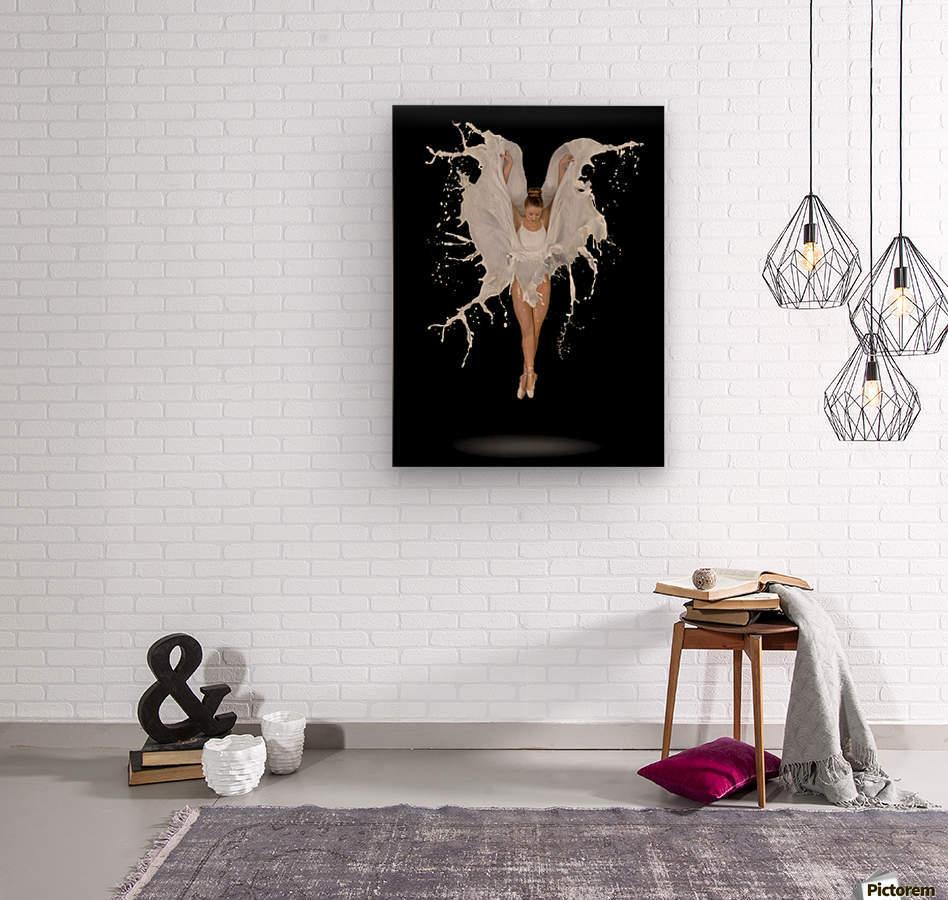 Liquidize  Wood print