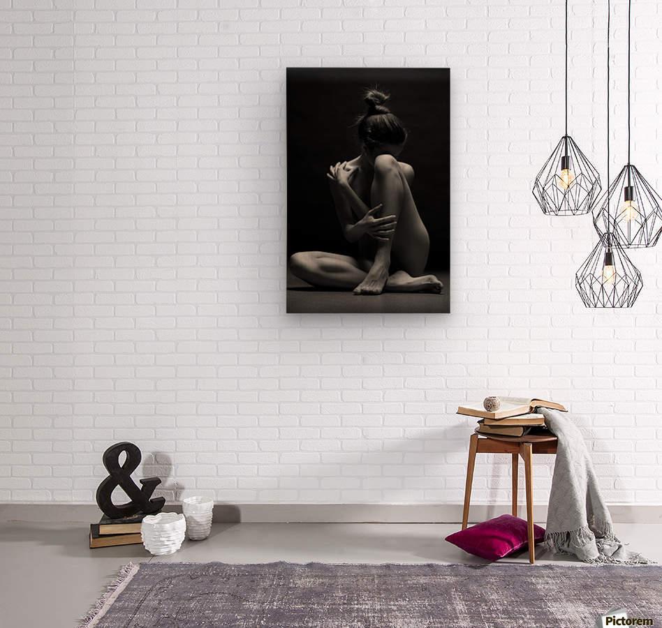 bodyscape  Wood print