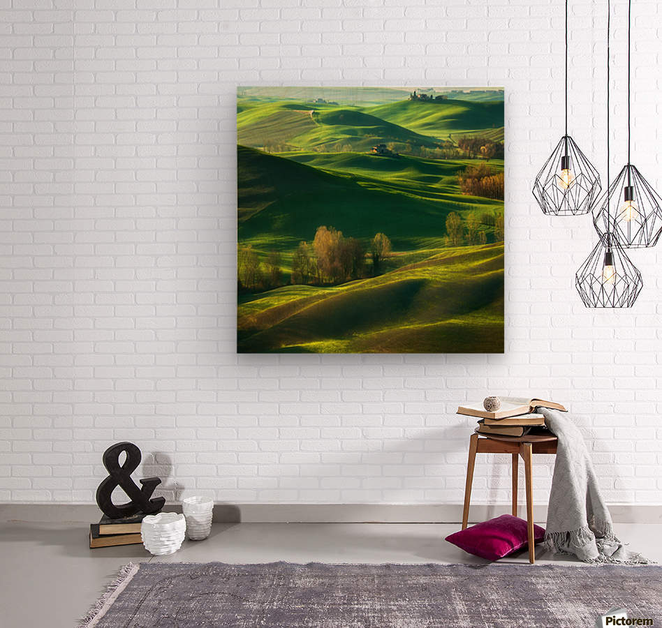 Valley...  Wood print