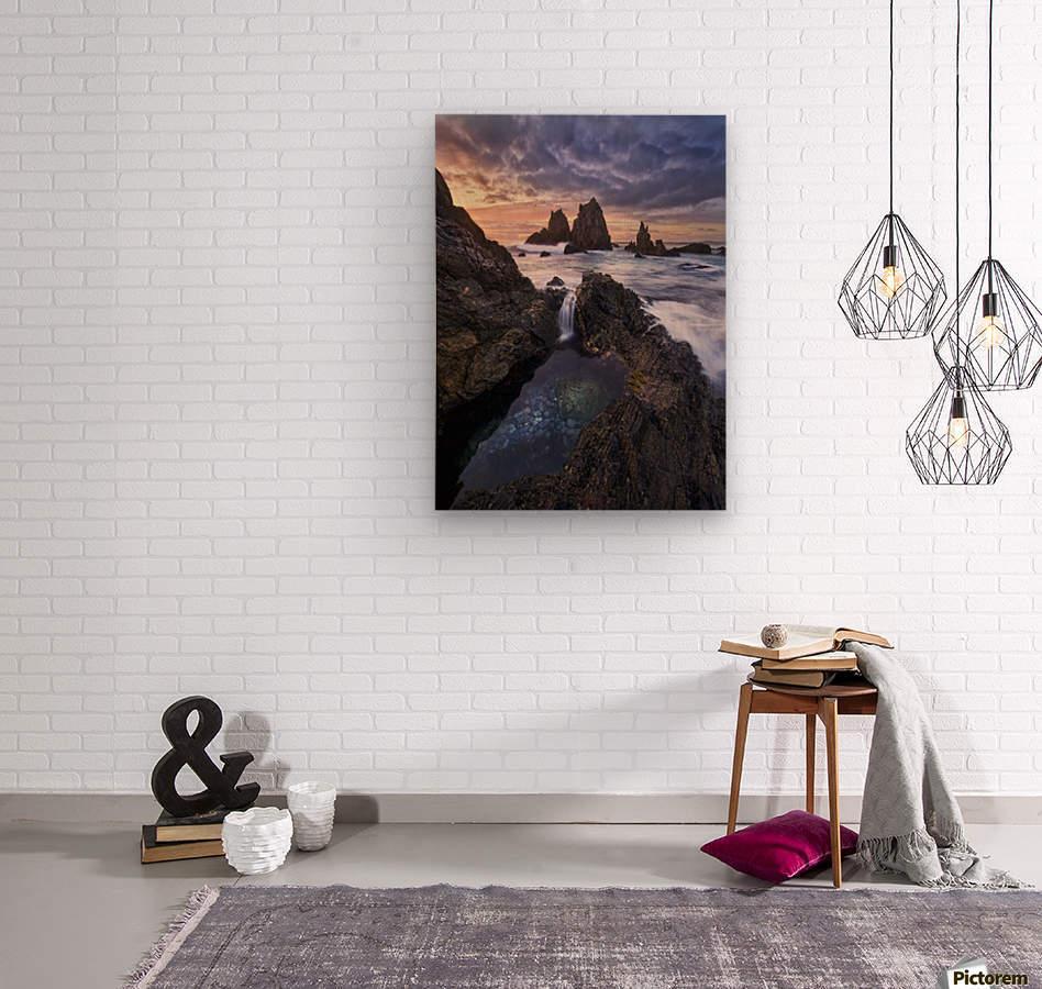 Meeting of Waters  Wood print