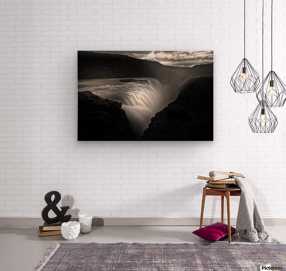 Gullfoss  Wood print