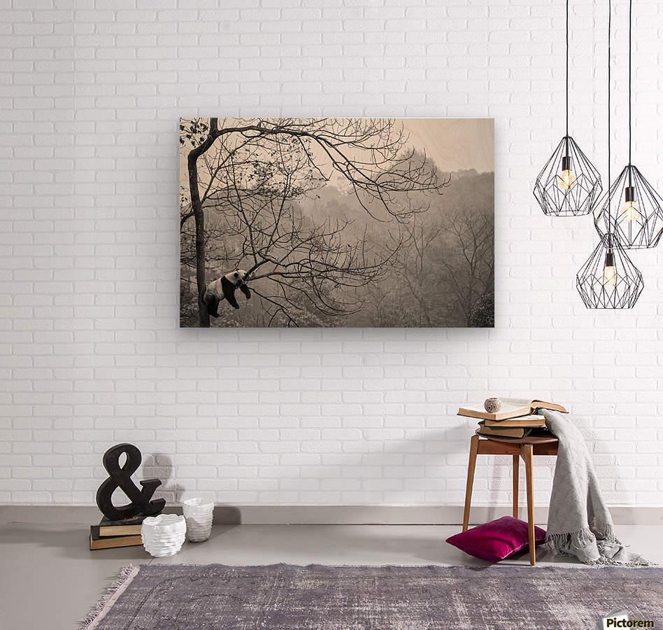 Relax  Wood print