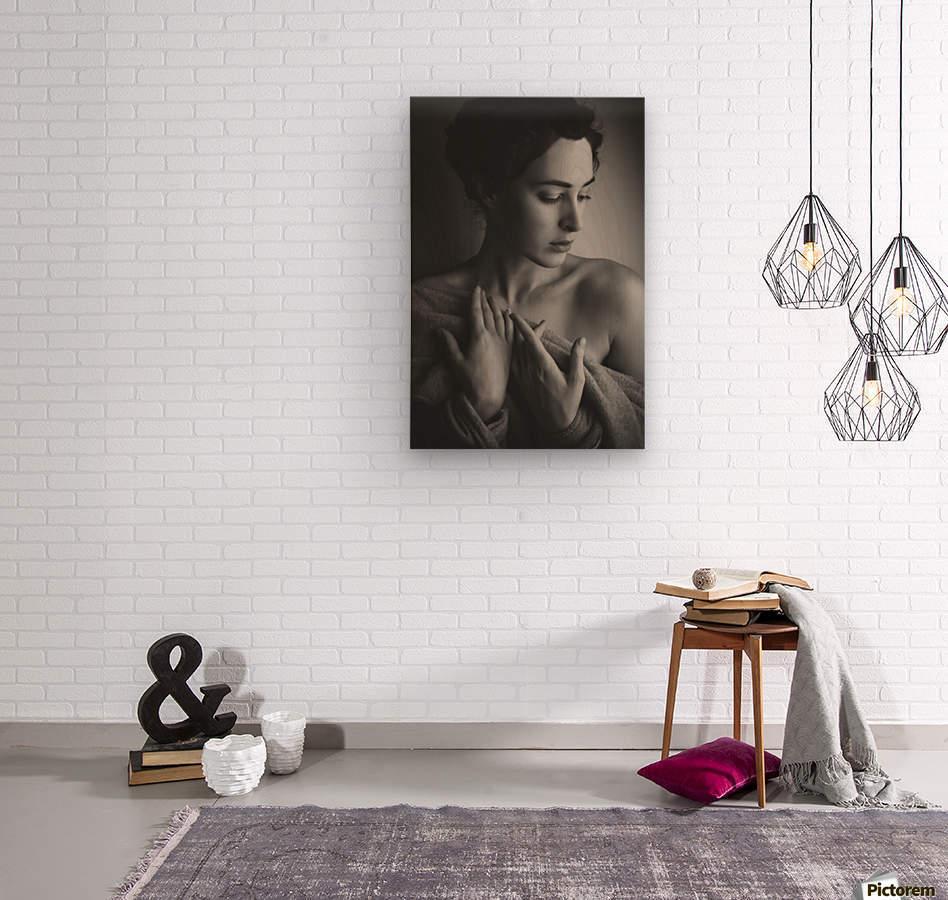 Portrait  Wood print