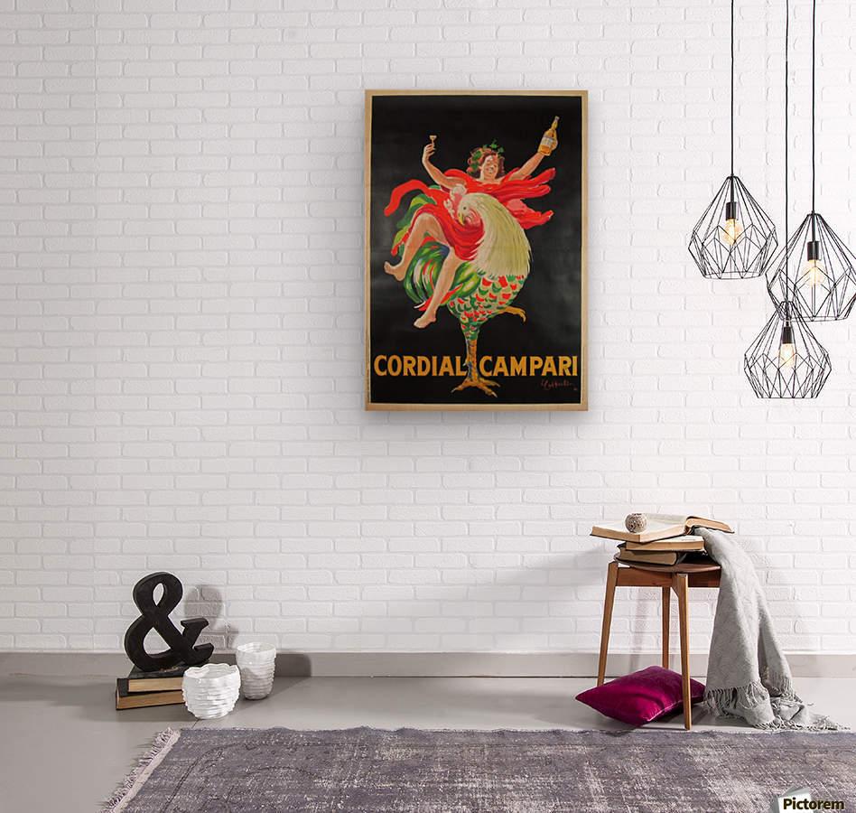 Cordial Campari  Wood print