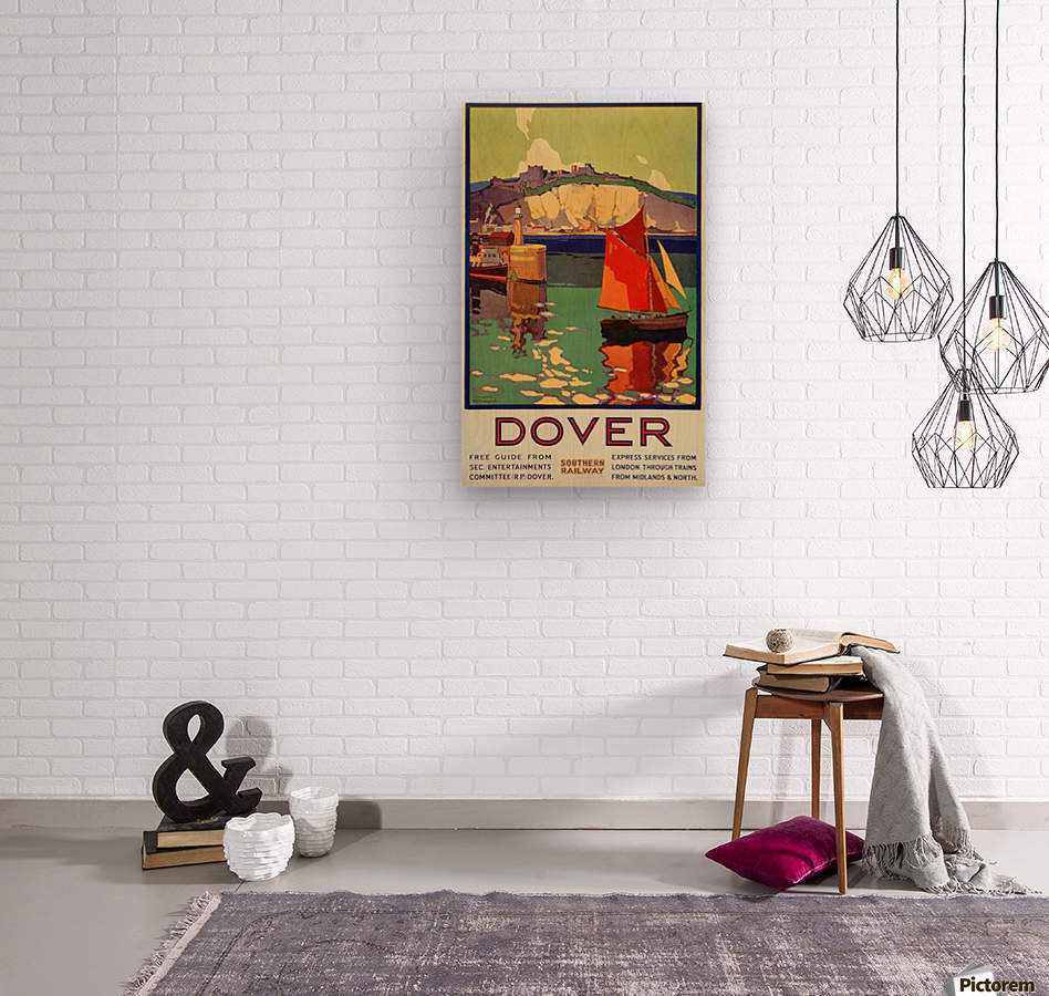 Dover Southern Railway  Wood print