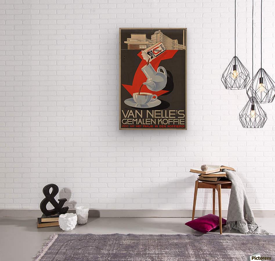 Van Nelle German Koffie  Wood print