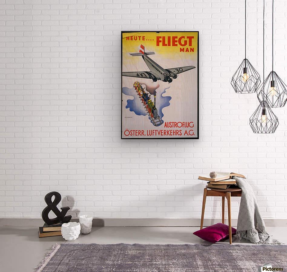 Austroflug  Wood print