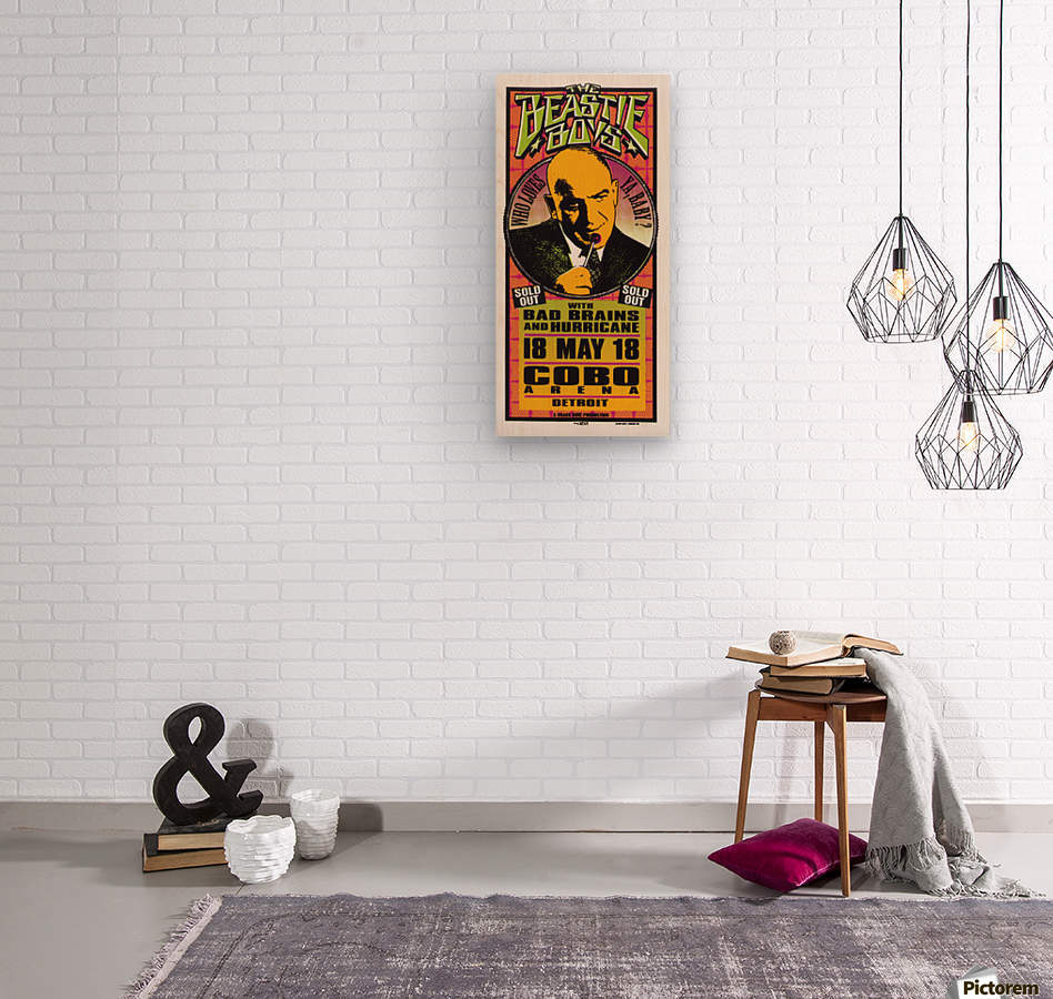 Beastie Boys  Wood print