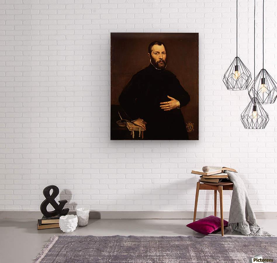 Portrait of a gentleman  Impression sur bois